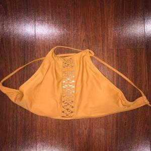 Aerie halter bikini top